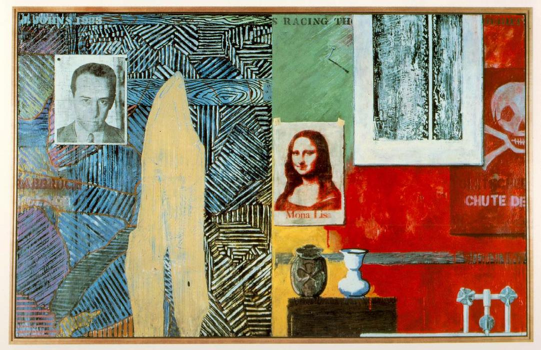 Racing Thoughts by Jasper Johns | Art Reproduction | ArtsDot.com