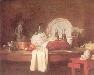Jean-Baptiste Simeon Chardin - The Butler s Table