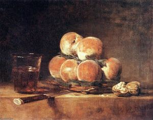 Jean-Baptiste Simeon Chardin - Basket of Peaches