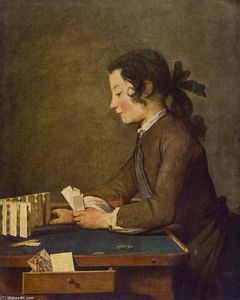 Jean-Baptiste Simeon Chardin - The House of Cards