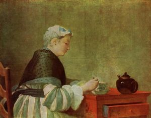 Jean-Baptiste Simeon Chardin - The tea drinker