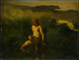 Jean-François Millet - The bather