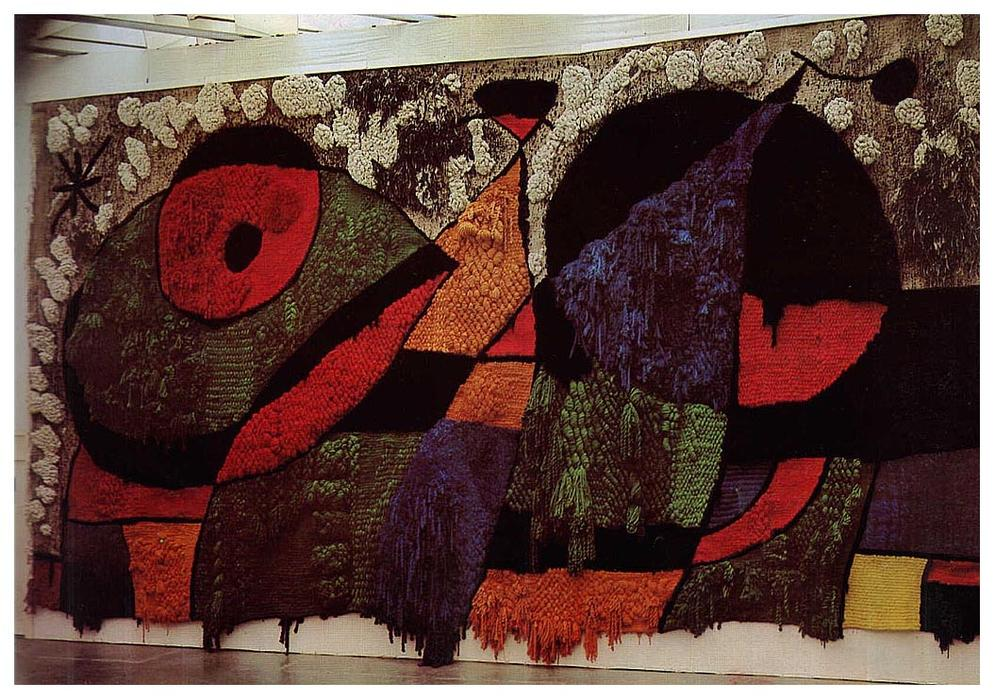 Big Carpet, 1974 by Joan Miro (1893-1983, Spain)