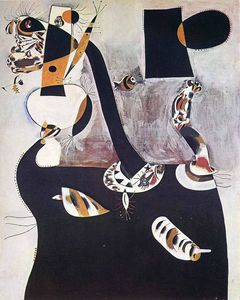 Joan Miro - Seated Woman II