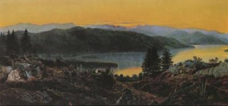 Windermere by John Atkinson Grimshaw (1836-1893, United Kingdom) | Art Reproduction | ArtsDot.com