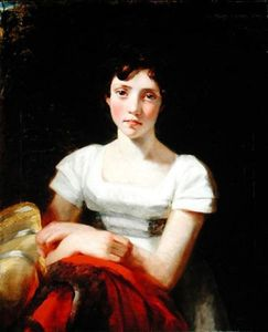 John Constable - Portrait of Mary Freer