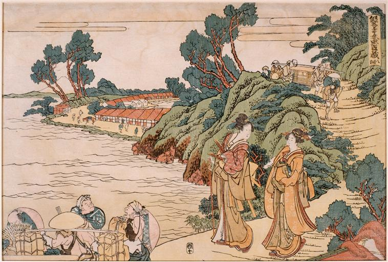 Primer Book of Treasury loyal vassals, 1806 by Katsushika Hokusai (1760-1849, Japan) | Art Reproduction | ArtsDot.com