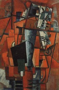 Kazimir Severinovich Malevich - The lady at the piano