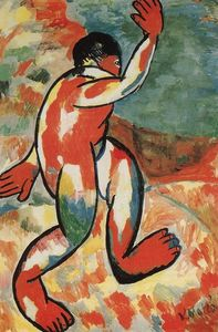 Kazimir Severinovich Malevich - Bather