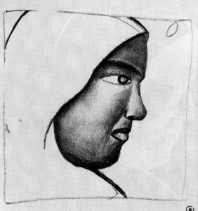 Kazimir Severinovich Malevich - Woman s Head in Profile