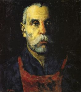 Kazimir Severinovich Malevich - Portrait of a Man