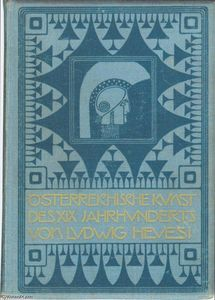 Koloman Moser - Book cover of Austrian art of the XIX. Century