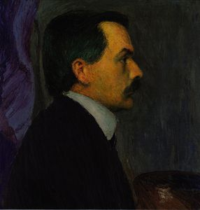 Koloman Moser - Self-portrait
