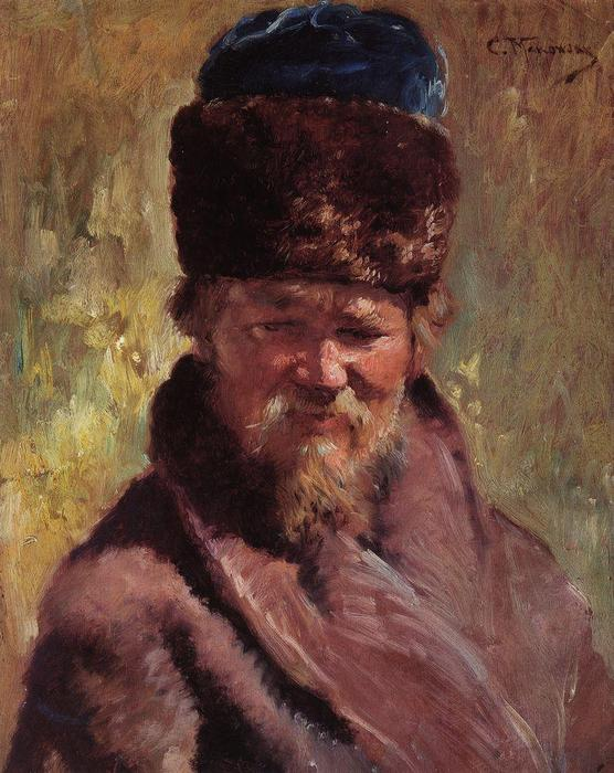 Portrait (15) by Konstantin Makovsky (1839-1915, Russian Empire)