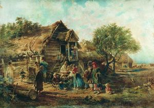 Konstantin Yegorovich Makovsky - After the Market