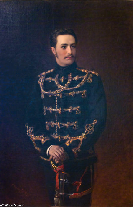 Portrait of the Count G.Bobrinsky by Konstantin Makovsky (1839-1915, Russia)