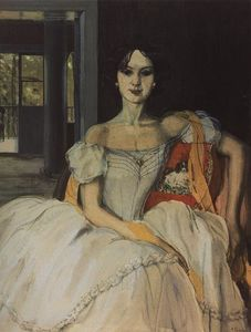 Konstantin Somov - Echo of Bygone Days