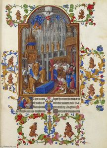 Limbourg Brothers - The Christmas Mass