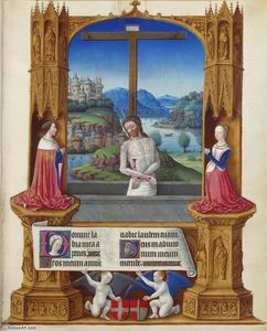 Limbourg Brothers - The Man of Sorrows