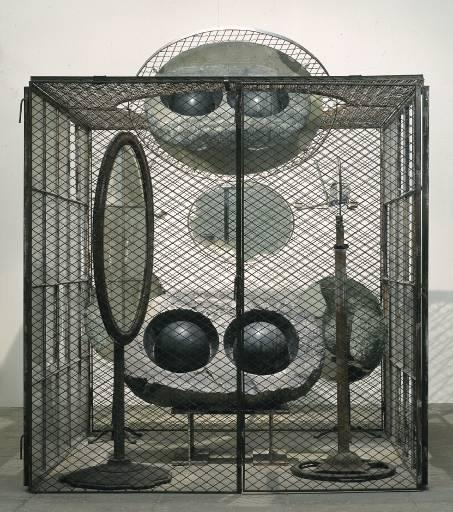 Cell (Eyes and Mirrors), 1993 by Louise Joséphine Bourgeois (1911-2010, France) | Painting Copy | ArtsDot.com