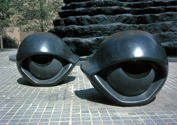 Eye Benches I, 1997 by Louise Joséphine Bourgeois (1911-2010, France) | Painting Copy | ArtsDot.com