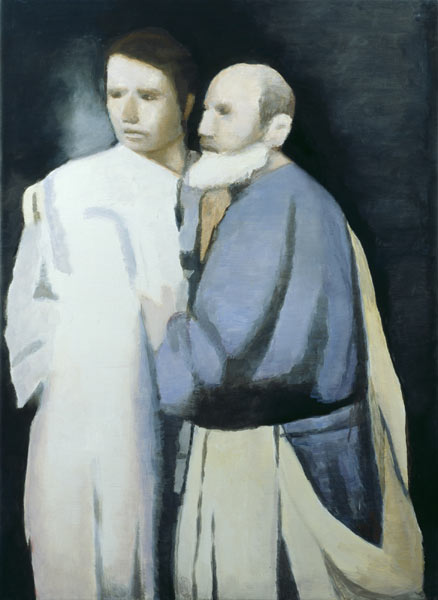 Petrus & Paulus, Oil On Canvas by Luc Tuymans
