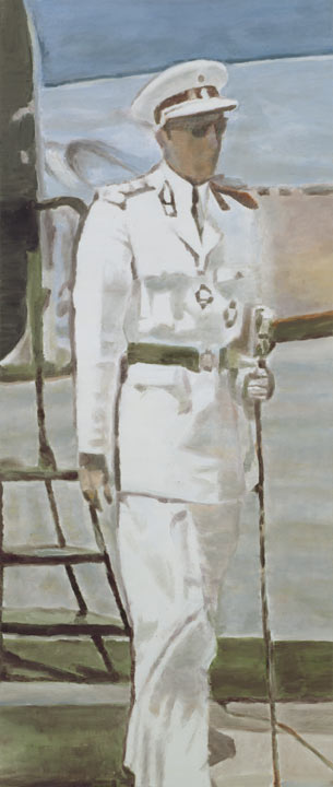 Mwana Kitoko, Oil On Canvas by Luc Tuymans