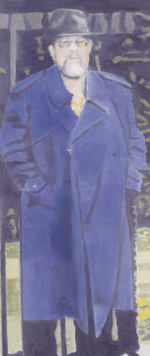 Imperméable, Oil On Canvas by Luc Tuymans