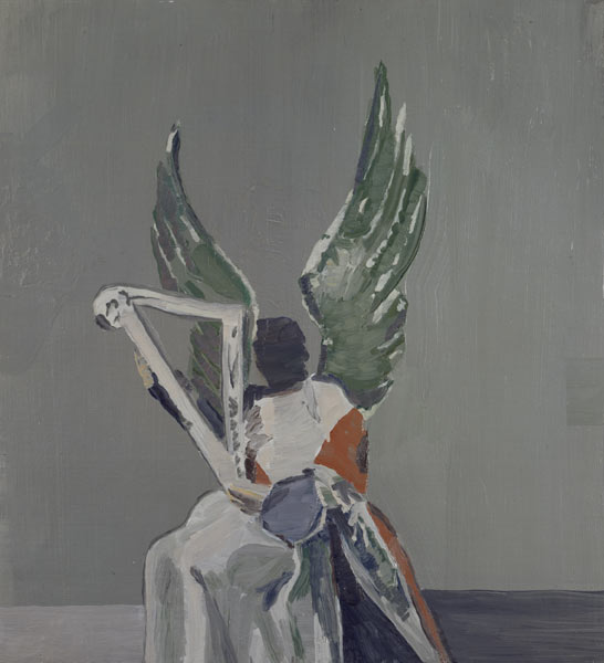 Angel, Oil On Canvas by Luc Tuymans