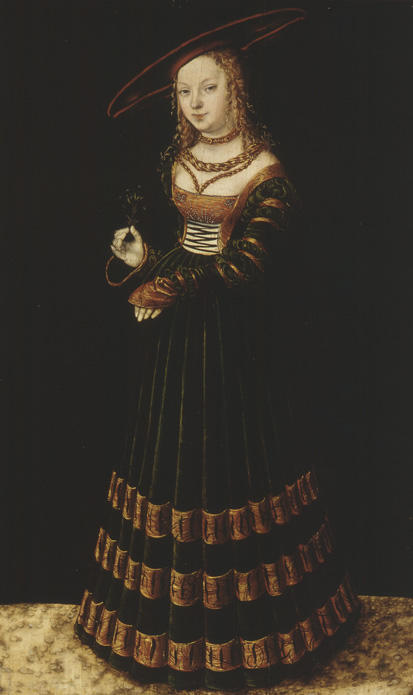 The Princess, Oil On Panel by Lucas Cranach The Elder (1472-1553, Germany)