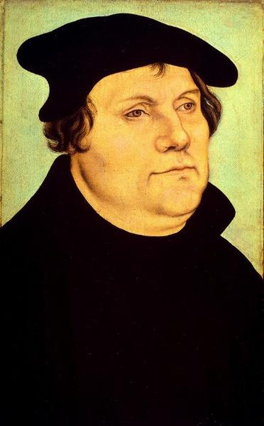 Martin Luther by Lucas Cranach The Elder (1472-1553, Germany)