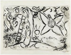 Marc Chagall - The Jacob-s Dream