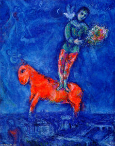 Marc Chagall - Child with a Dove