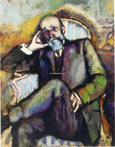 Marcel Duchamp - Portrait of the artist-s father