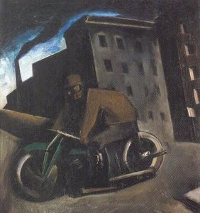 Mario Sironi - The Motorcyclist