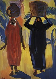 Martiros Saryan - Egyptian women
