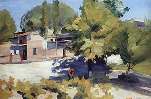 Martiros Saryan - April