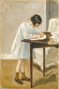 Max Liebermann - The Artist's Granddaughte..