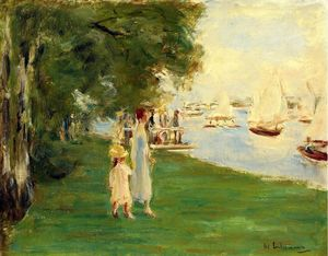 Max Liebermann - The Yacht Race