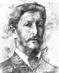 Mikhail Vrubel - Self Portrait