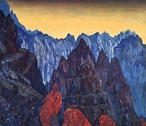 Nicholas Roerich - Cry of the serpent
