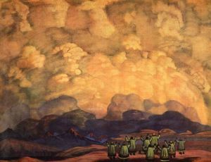 Nicholas Roerich - Behest of the sky