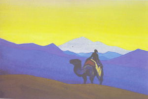 Nicholas Roerich - Lonely stranger