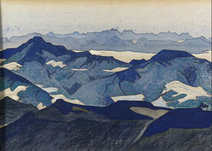 Nicholas Roerich - View of Jelar La