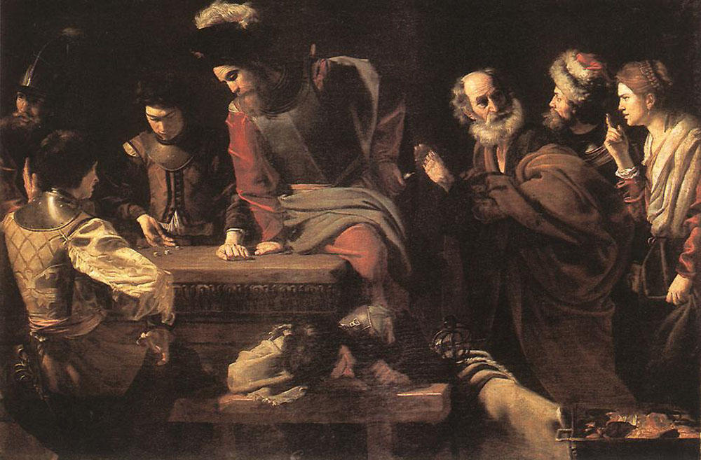 The Denial of St. Peter, 1625 by Nicolas Tournier (1590-1630, France) | Museum Art Reproductions | ArtsDot.com