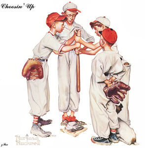 Norman Rockwell - Choosin Up