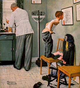 Norman Rockwell - Doctor