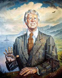 Octavio Ocampo - Jimmy Carter