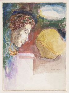 Odilon Redon - The Blessing