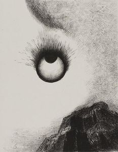 Odilon Redon - Everywhere eyeballs are aflame
